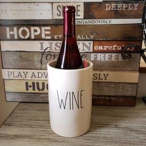 Rae Dunn Wine Chiller Cellar New